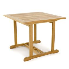"""Simple yet highly functional, the 36"""" Square Table accentuates any space, from the kitchen or breakfast nook, to the patio or streetside. Ideal for small spaces and those who prefer hosting smaller groups of guests, this Square Table is constructed with attention to detail and exceptional craftsmanship."""