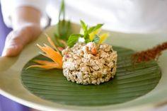 Das Restaurant Samui-Thai mit authentisch königlich thailändischer Küche und Atmosphäre wie auch einer Sommerterrasse mit Seesicht.