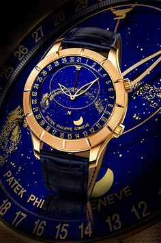 Luxus Uhren-Auktion Genf-Patek Philippe-Ref Gold - Xurhen Dream Watches, Fine Watches, Cool Watches, Analog Watches, Women's Watches, Patek Philippe Rose Gold, Luxury Watches For Men, Watches For Men Unique, Beautiful Watches