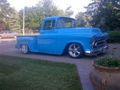 1959 Chevy Truck, Classic Chevy Trucks, Classic Cars, Gmc Trucks, Cool Trucks, Pickup Trucks, Chevy 3100, Chevy Pickups, Corvette C4