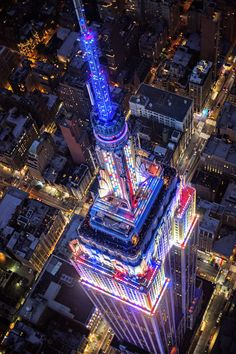 The Empire State Building announces that Matthew Pugliese of Brooklyn, NY is the $5,000 Grand Prize Winner of the 2016 Photo Contest with his photo of its illuminated tower from above. Congratulations! See all of the finalists' photos on this board, and learn more: http://www.esbnyc.com/sites/default/files/2016_photo_contest_winner_release_final.pdf