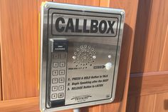 Access Control call box installed by First Fence Company in Hillside, IL. Fencing Companies, Automatic Gate, Security Solutions, Access Control, Gates, Fence, Garage, Box, Carport Garage