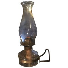 1920's Oil Lantern With Wall Attachment ($105) ❤ liked on Polyvore featuring home, home decor, candles & candleholders, fillers, furniture, decor, objects, candles & holders, wall candleholders and wall lantern