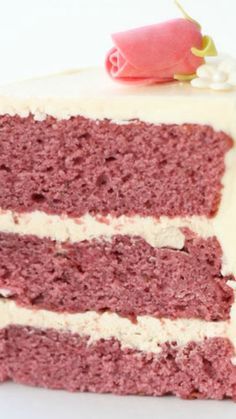 Raspberry Pinot Noir Cake ~ moist, light and full of raspberry flavor with a hint of the warmth of the Pinot Noir lingering in the background.