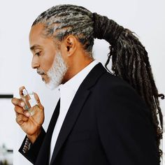 Braided High Ponytail - 20 New Super Cool Braids Styles for Men You Can`t Miss - The Trending Hairstyle Mens Dreadlock Styles, Dreadlock Hairstyles For Men, Dreads Styles, Black Men Hairstyles, Braid Styles, Braided Hairstyles, Top Haircuts For Men, Dreadlocks Men, Flat Top Haircut