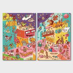 Cuaderno Achopistacho - DIN A5 - Malla de Puntos - 144 páginas