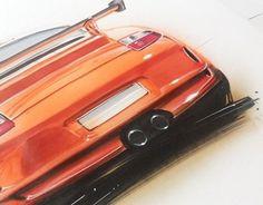 """다음 @Behance 프로젝트 확인: """"some car sketches v.II"""" https://www.behance.net/gallery/24920485/some-car-sketches-vII"""