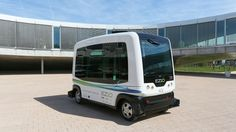 This Driverless Vehicle Is the First to Take Public Roads