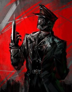 Character Concept, Character Art, Concept Art, Hellboy Kroenen, Dark Fantasy, Fantasy Art, Arte Steampunk, Dieselpunk, Horror Art