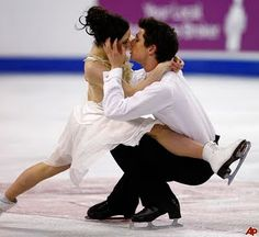tessa virtue and scott moir 2010 olympics they are so cute together!