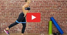 Resistance Band Workout for Total-Body Strength Get a total-body workout at home. Just BYOBand. h…Get a total-body workout at home. Just BYOBand. Hiit, Cardio Gym, Fitness Video, Fitness Tips, Body Workout At Home, At Home Workouts, Short Workouts, Band Workouts, Mini Band Exercises