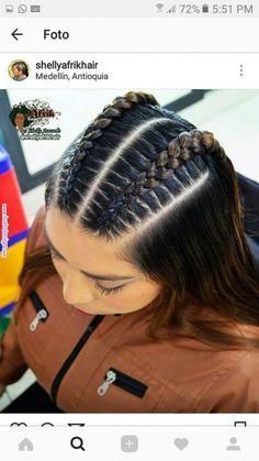 Natural Hair Styles natural hair twist styles for short hair Baddie Hairstyles, Box Braids Hairstyles, Twist Hairstyles, Hairstyle Ideas, Hair Ideas, Hairstyle For Curly Hair, Cute Hairstyles For Teens, Teenage Hairstyles, Fashion Hairstyles
