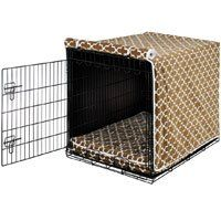 Cedar Lattice Crate Cover - Small * Read more details by clicking on the image. #DogCratesHousesPens