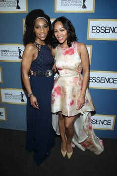 Meagan Good Photos Photos - Actress Meagan Good (R) and Multicultural Communications Manager at Lincoln Raj Register attend the 2016 ESSENCE Black Women In Hollywood awards luncheon at the Beverly Wilshire Four Seasons Hotel on February 25, 2016 in Beverly Hills, California. - 2016 ESSENCE Black Women in Hollywood Awards Luncheon - Inside