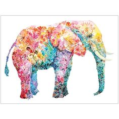Elephant Gum Canvas Art Print ($70) ❤ liked on Polyvore featuring home, home decor, wall art, animals, backgrounds, art, effect, elephant wall art, silhouette wall art and animal wall art