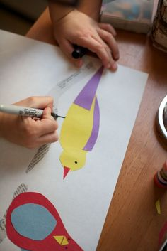 crafts for kids: charley harper art project || Classic Play