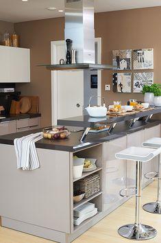 Trendfarbe Macchiato U2013 SCHÖNER WOHNEN FARBE Küchen Ideen Farbe, Wandfarbe  Braun, Wandfarbe Küche
