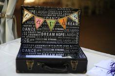 Vintage Wedding Cards Box