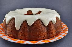 Pumpkin Cheesecake Bundt Cake | Pumpkin Bundt with Cheesecake Filling