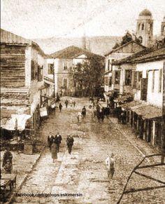 Mersin Silifke Caddesi balık pazarı..1910 lar....