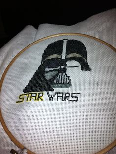 Again, this was completed and given to my nephew for christmas 2013. It worked really well and thoroughly enjoyed it though got very sick of black embroidery thread ;)