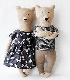 At first glance I thought that Bear was flipping me off!! Character Filled Bears From Philomena Kloss | The Junior
