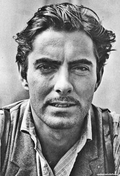 Tyrone Power by Alfred Eisenstaedt. Doesn't he resemble George Clooney?!