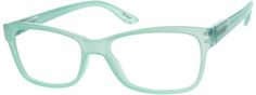 GreenPlastic Full-Rim Frame with Spring Hinges122524