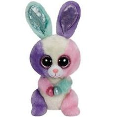 2cfd21e10a7 2015 Ty Beanie Boos Bloom The Bunny Rabbit With Tags Birthday April 18