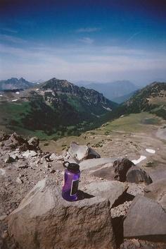 Mt. Rainier, Burroughs Mountain, hiking trail wonderland