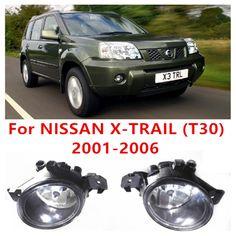 For Nissan X Trail T30 2001 2006 Car Styling Front Bumper Halogen Fog Lights High Brightness Fog Lamps Nissan Car Lights Toyota Innova