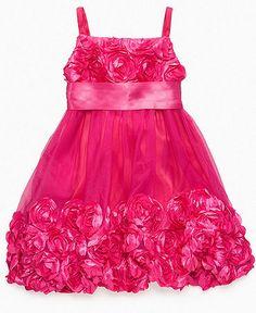 Bonnie Jean Girls Dress, Little Girl Babydoll Dress