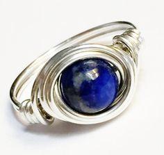 Lapis Ring   Lapis Lazuli Ring Lapis Lazuli Gemstone  Lapis