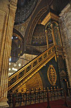 Minbar, Mezquita de Mohamed, Ali El Cairo.