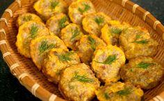Wanja-jeon (Pan-fried meat & tofu patties: 완자전)
