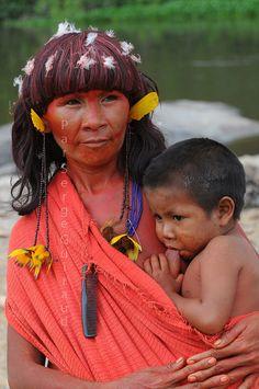 * tribe Arawetê _Xingu  _ Brazil *