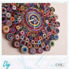 #CREO #Clock #Diy #home #decor
