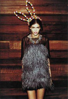 More Ostrich Feather Fashions. Repin Via: Bri Emery