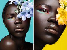 Photographer: Thandiwe Muriu. Model: Anok Kuol. Makeup Artist: Cultured Ego