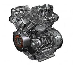 Suzuki V Strom Engine