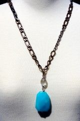 Mark Edge Turquoise Necklace 38