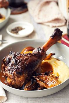 Braised Lamb Shanks and Melted Onions | Anthology Magazine | Bloglovin'