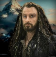 #RichardArmitage Thorin Oakenshield, King Of The Mountain by ANN Boudreau https://twitter.com/annboudreauart/status/552822289130328064