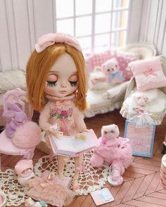 甜甜 明天要開始繼續整原著風既衫 Blythe Doll