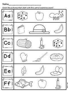 Free Ending X Sound Worksheet. | Preschool | Pinterest | Worksheets ...