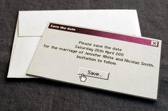 ~ Uma Linda Promessa ~: 10 convites de casamento super criativos