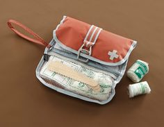 Orvis Canine First Aid Kit http://www.menshealth.com/guy-wisdom/best-dog-gear/slide/7