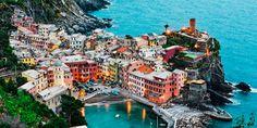 Viewranger GPS files for the Via Aurelia [East] or Via Francigena [Liguria] Massa-Cinque Terre-Genoa-San Remo-Menton 12 Stages Frozen In Time, Cinque Terre, Travel Goals, Dusk, Fine Art Photography, Places To See, Coastal, Beautiful Places, Around The Worlds