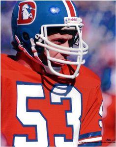 d83ea280 randy gradishar broncos topps   Randy Gradishar Broncos Unsigned Photo at  Amazon.com Denver Broncos