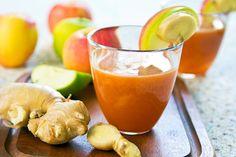 9 Receitas de Suco Detox Com Gengibre Para Emagrecer - O suco detox com gengibre é ideal para manter o organismo funcionando, livre de toxinas e permitindo mais energia no dia a dia.